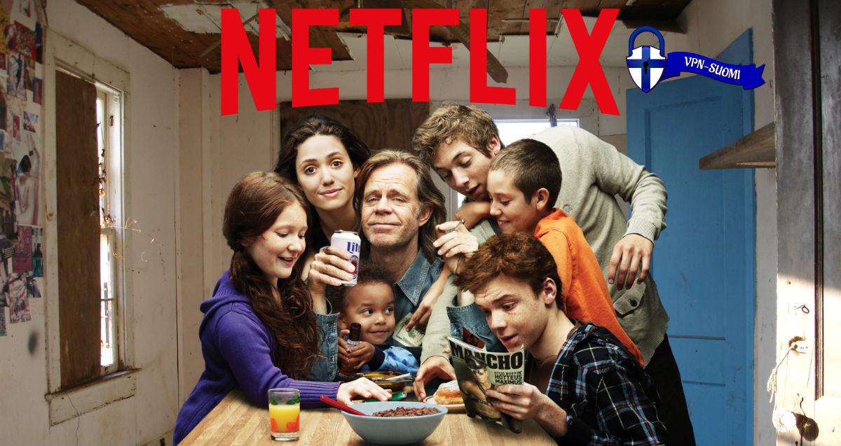 Shameless Hävyttämät Netflix VPN USA