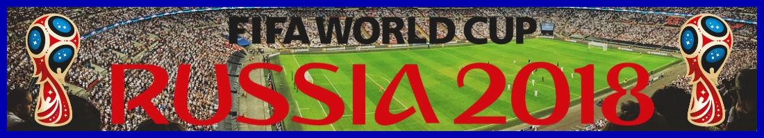 Jalkapallon MM-kisat 2018 - FIFA WORLD CUP RUSSIA 2018