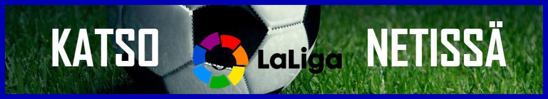 Espanjan LaLiga netissä