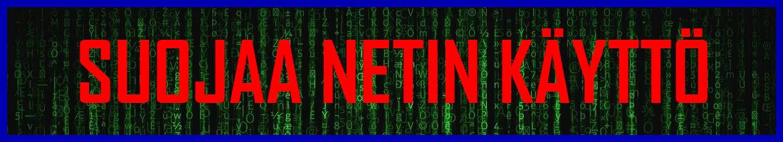 Suojaa netin käyttö VPN-yhteydellä