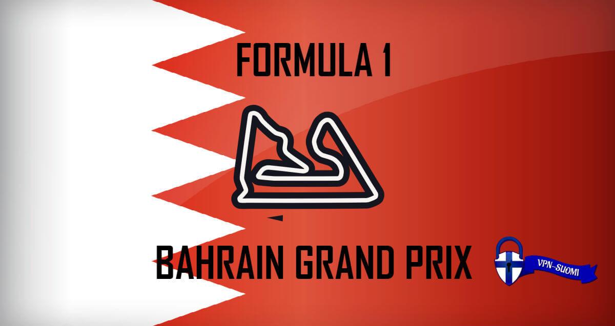 Formula 1 Bahrain GP 2019