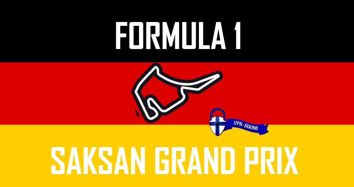Formula 1 Saksan Grand Prix