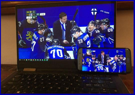 Jääkiekon MM-kisat ilmainen livestriimi mobiilissa ja tietokoneella