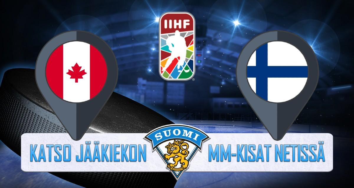 Kanada - Suomi Jääkiekon MM kisat