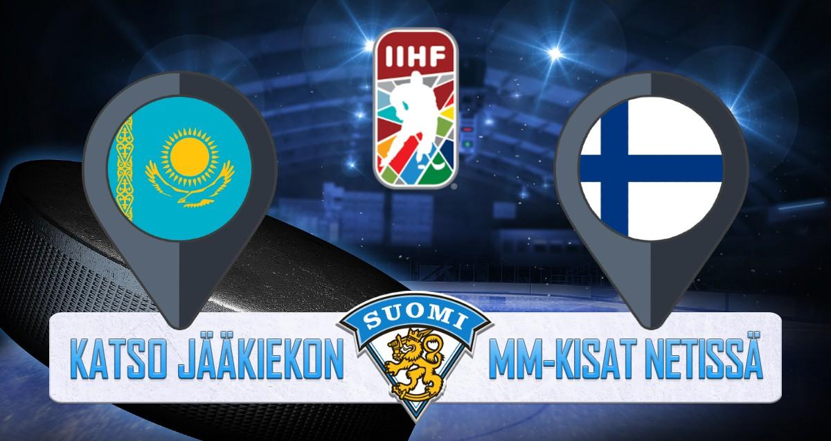 Kazakstan - Suomi Jääkiekon MM kisat