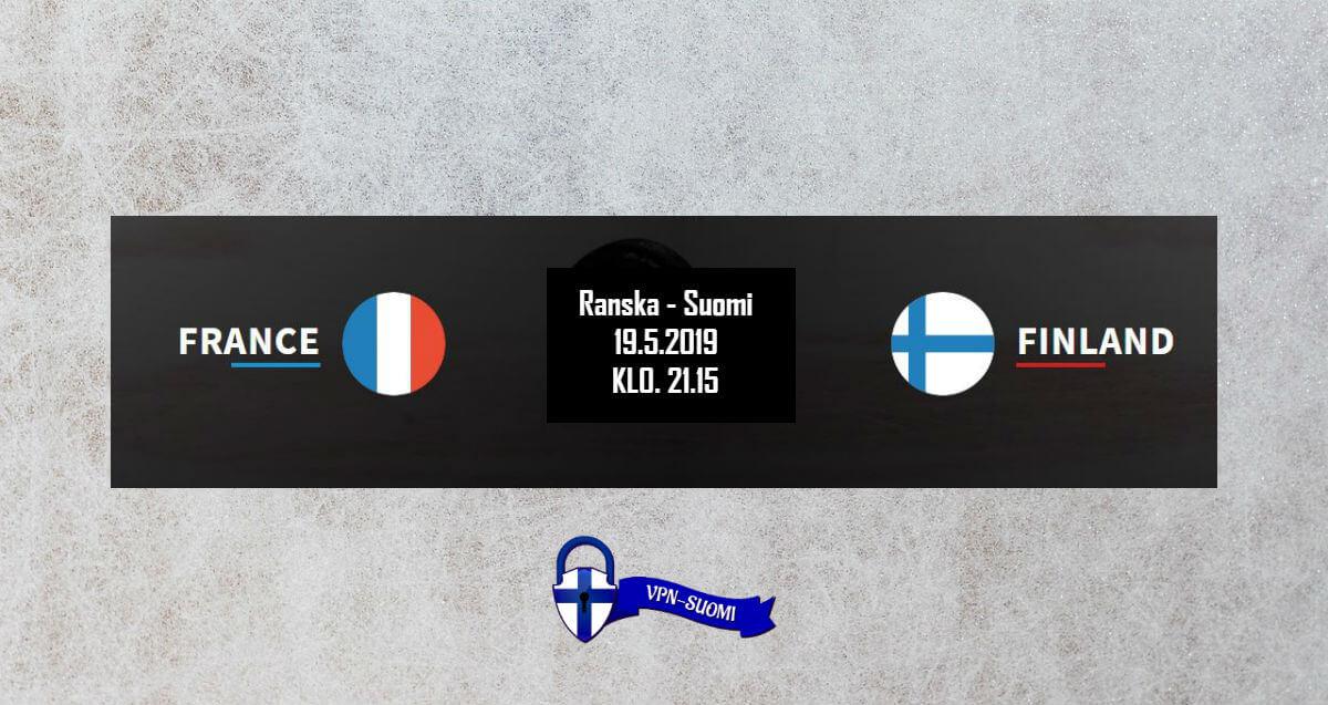 Ranska-Suomi Jääkiekon MM-kisat