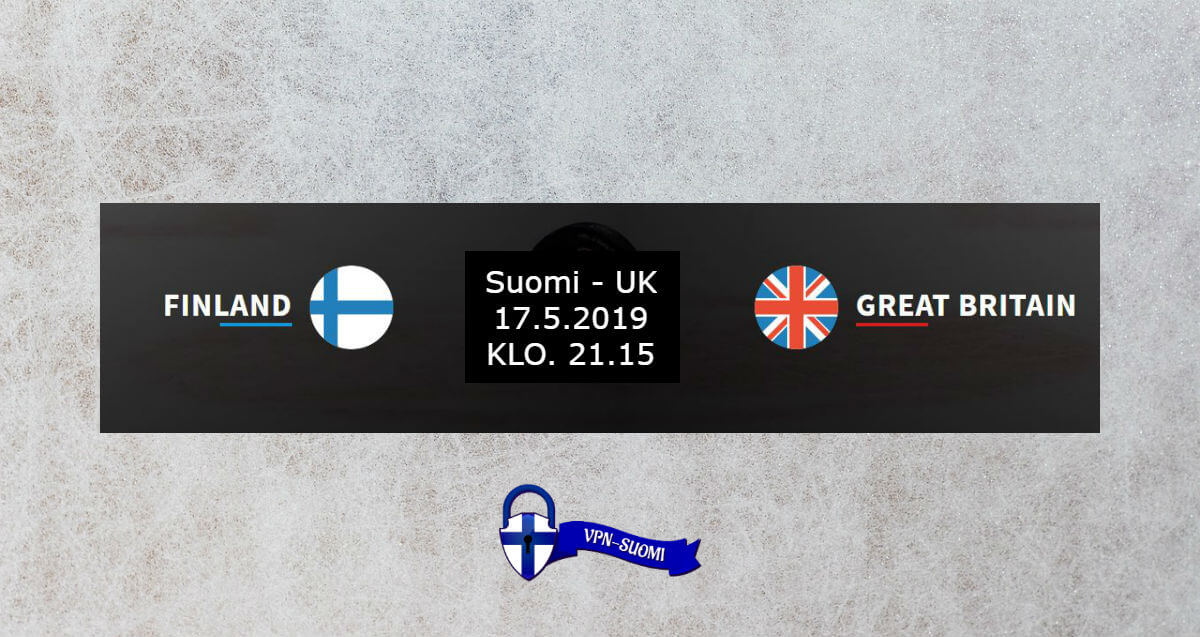 Suomi-Iso-Britannia Jääkiekon MM-kisat