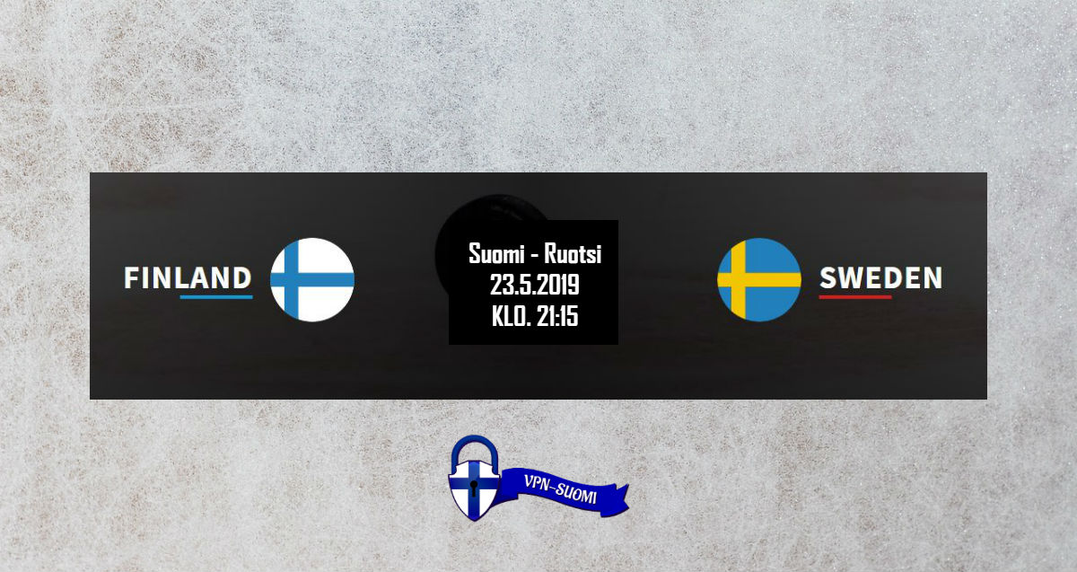Suomi-Ruotsi Jääkiekon MM-kisat