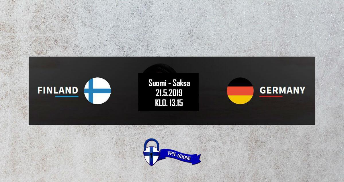 Suomi-Saksa Jääkiekon MM-kisat