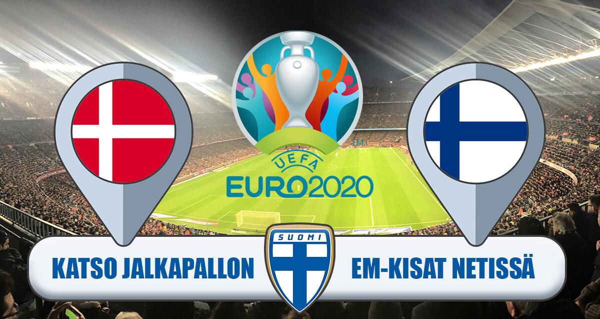 Tanska - Suomi - EURO2020