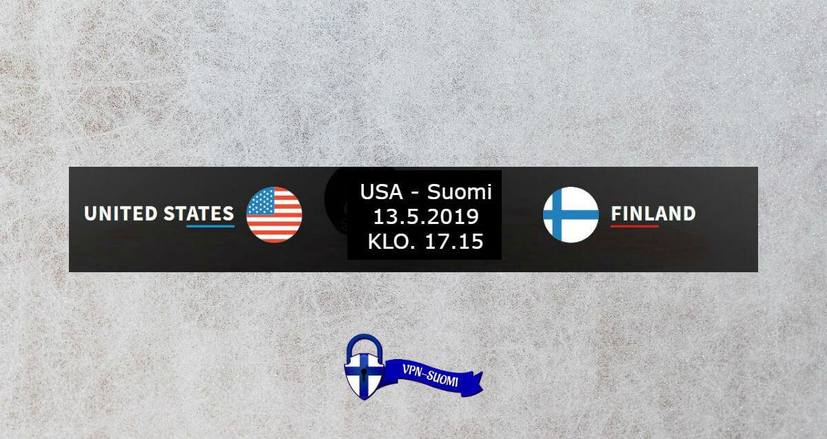 USA-Suomi Jääkiekon MM-kisat
