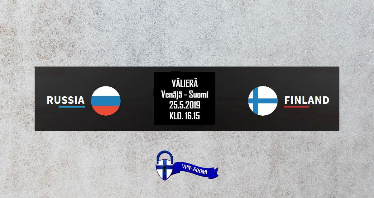 Venäjä-Suomi Jääkiekon MM-kisat