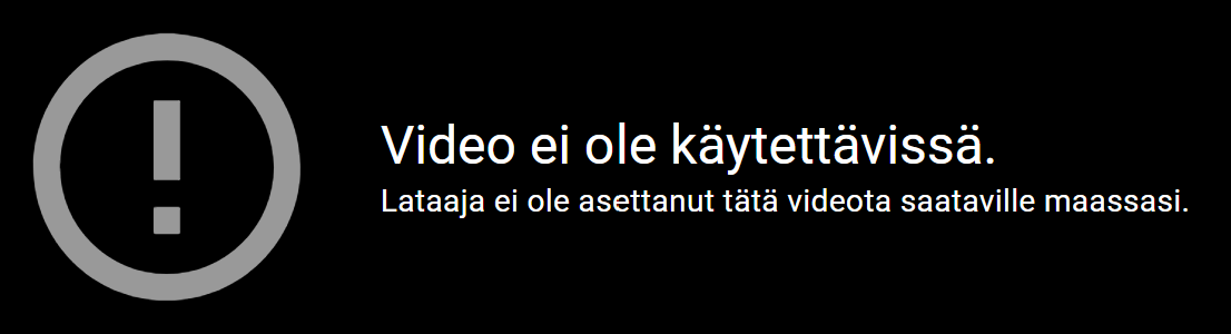 Youtube maaesto